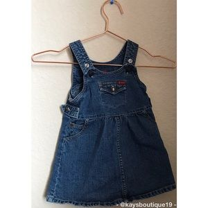 Guess Baby Denim Dress Size 24 M